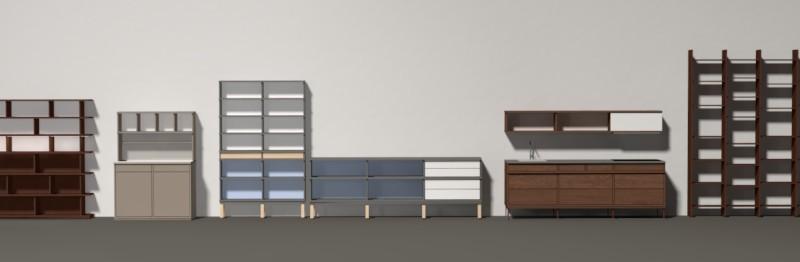 Beispiele von Einzelmöbeln
