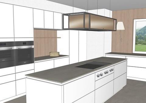 Hochschranknische für Küchen-Gerätschaften